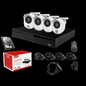 KIT CCTV SMART WIFI NVR 2MP 4CH CS200 KIT-15