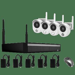 KIT CCTV SMART WIFI NVR 2MP 4CH CS200W KIT-14