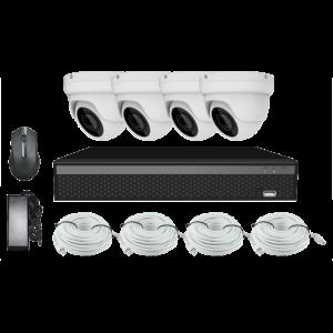 KIT CCTV LONGSE XVR 2MP 8CH NVR3604DP1HSF200 KIT-4