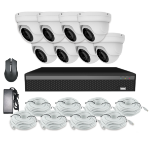 KIT CCTV LONGSE XVR 2MP 8CH NVR3608DP1HSF200 KIT-6