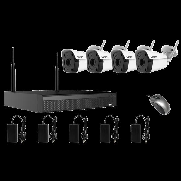 KIT CCTV WIFI NVR 8MP 4CH WIFI3604DE4FK800 KIT-13