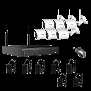 KIT CCTV WIFI NVR 2MP 6CH WIFI3608DE6SW200 KIT-21