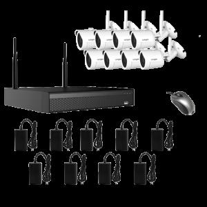 KIT CCTV WIFI NVR 2MP 8CH WIFI3608DE8SW200 KIT-21