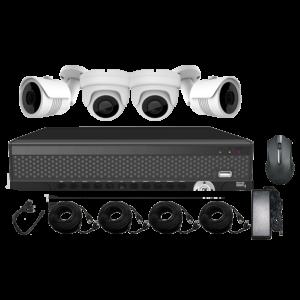 KIT CCTV LONGSE XVR 5MP 4CH XVRDA2004HD4MH500 KIT-17