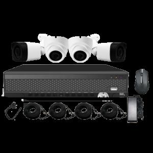 KIT CCTV LONGSE XVR 5MP 4CH XVRDA2004HD4PH500 KIT-16