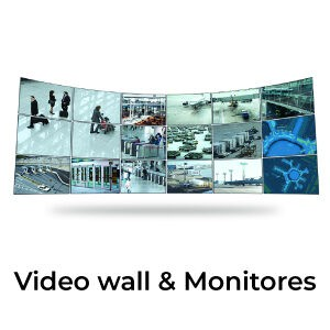 Video Wall & Monitores