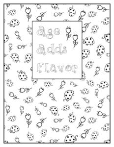 LadyBugFlowersColoringPage_seasonedtimes.com