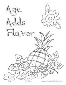 PineappleFlowers_ColoringPage_seasonedtimes.com
