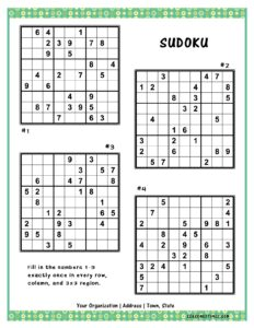 Vol1_Sudoku2020
