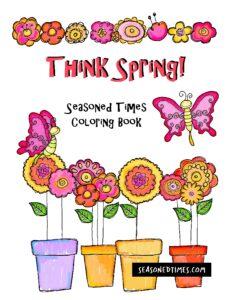 SpringColoringBook2020