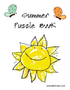 2020 Puzzle Book Cover