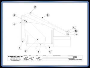Broom Model 26-46 Housing Schematic