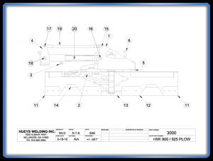Plow Model 900 Schematic