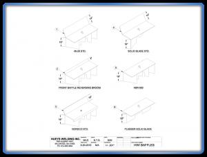 Ballast Regulator Baffle Assembly Schematic