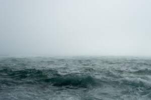 Stormy ocean to represent mood disorders