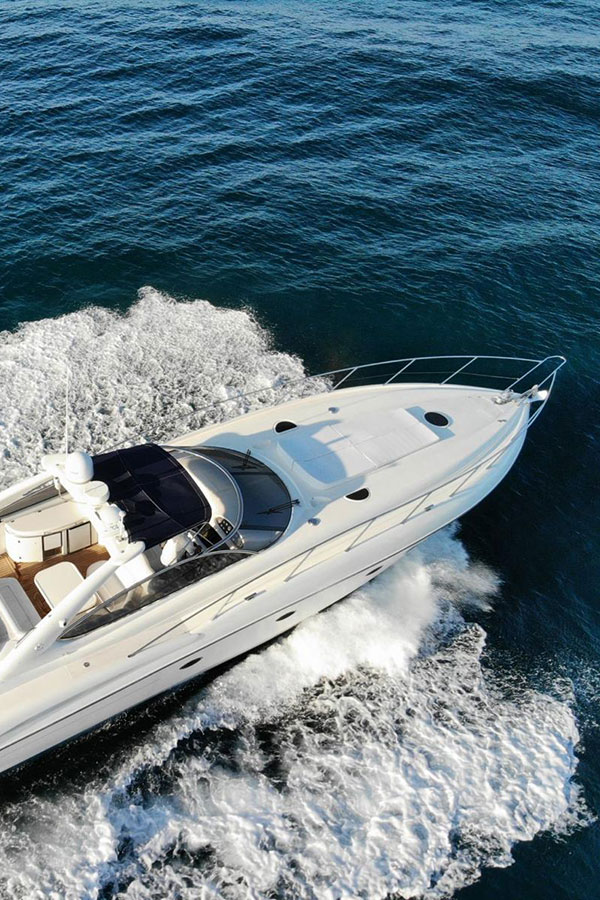 Sunseeker 58 Predator Yacht Charter Marbella