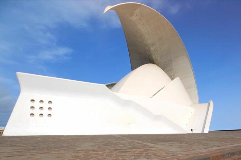 Auditorio de Tenerife Adan Martin Canary Islands