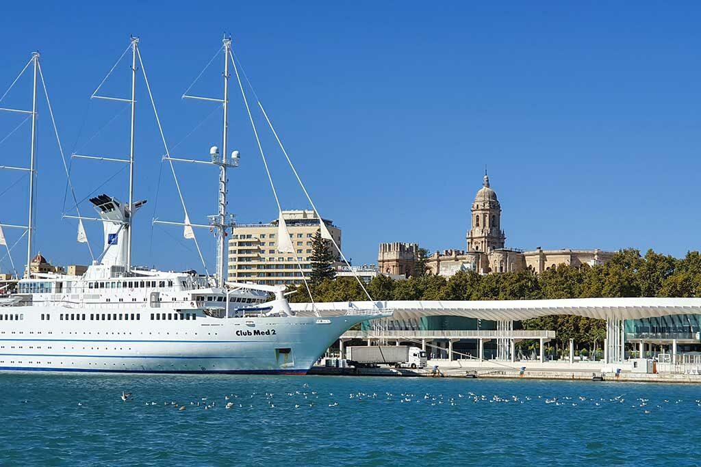 Malaga Port Cruising