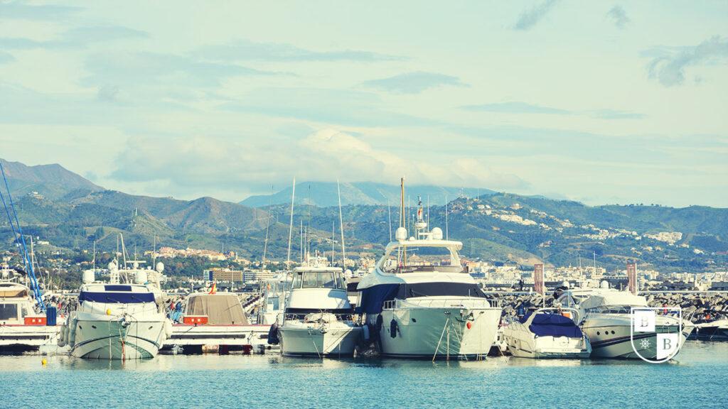 Luxury Boats in Puerto Banus
