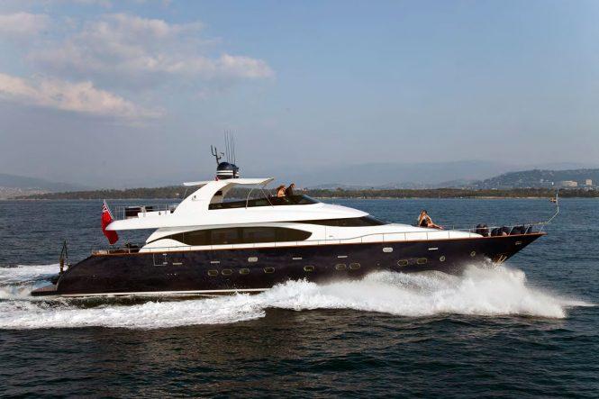 Motor yacht ASHA