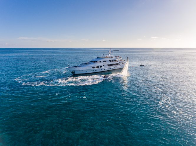 Motor yacht LADY JOY available for charter