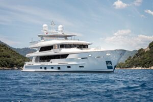 43m Superyacht SUNRISE by Yildiz Shipyard with Hot Lab Interiors Delivered to her Owner