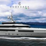 Codecasa working on 58m motor yacht hull C127 to be delivered in 2023
