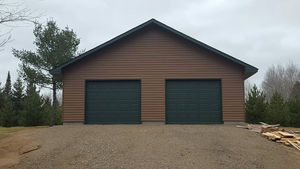 32′ x 40′ Two Door Garage
