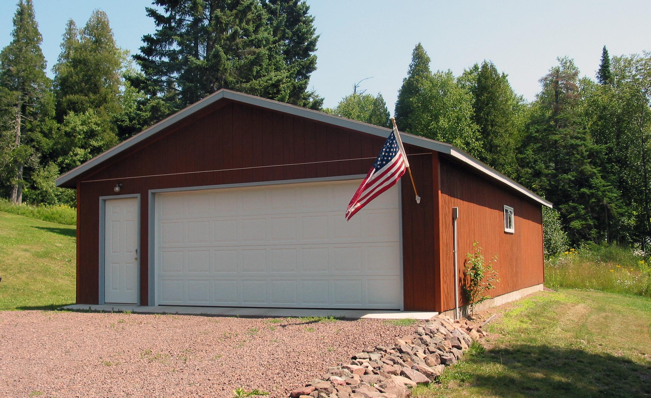 Classic American Garage