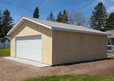 Upgrades Shown: Aluminum Soffit and Fascia -Concrete Apron