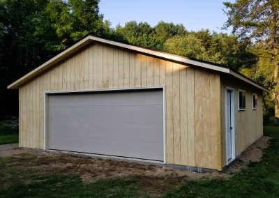 Upgrades Shown: Flush Garage Door