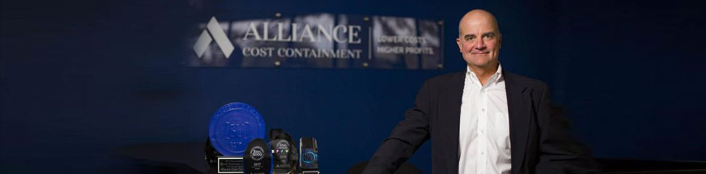 Miles Lee from Alliance Cost Containment, the top Cost Reduction Company in the USA, wins Business of the Year Award