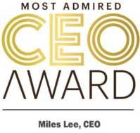 Most Admired CEO Miles Lee