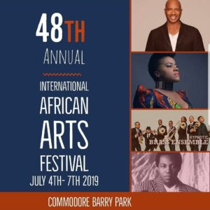 48th Annual International African Arts Festival @ Commodore Barry Park