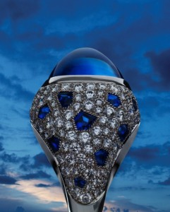 Gorgeous Cabochon Sapphire Ring