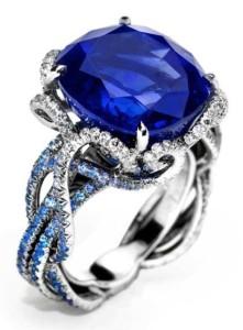 Anna Hu Sapphire Ring