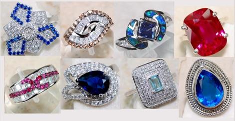 Gorgeous Gemstone Rings