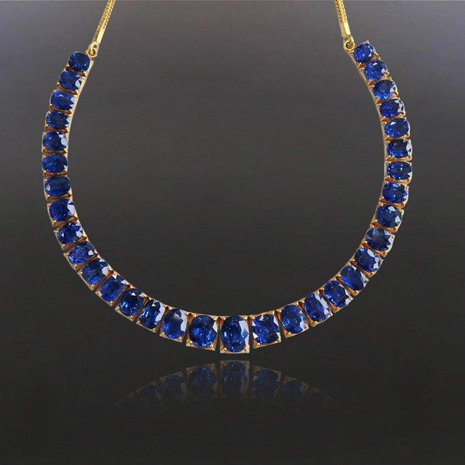 Leibish & Co 66.00 Carat Loose Gemstone Mix Shape Blue Diamonds