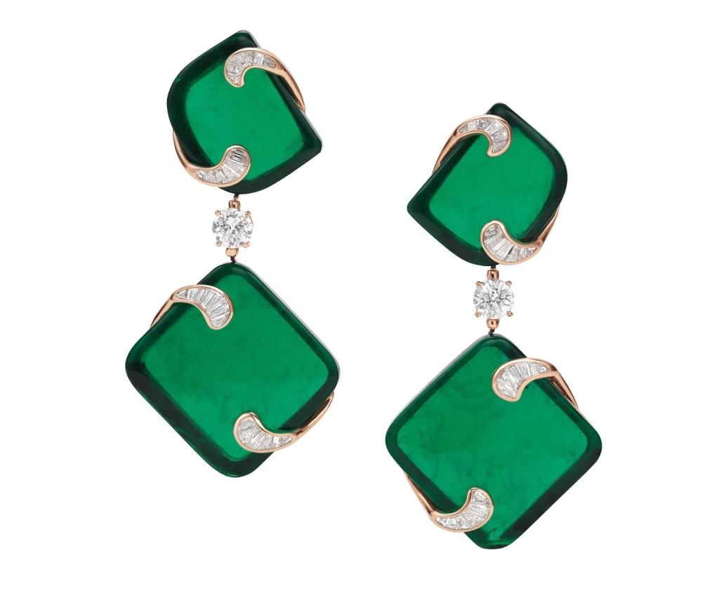 """Hidden Treasures"" earrings"