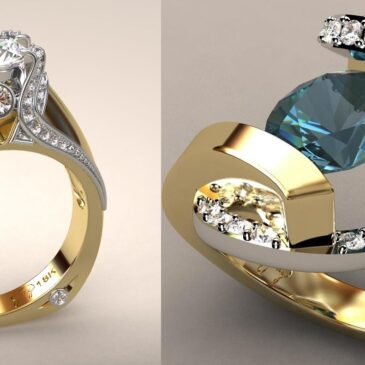 Gorgeous Greg Neeley Ring Designs