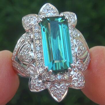 Gorgeous Tourmaline Rings