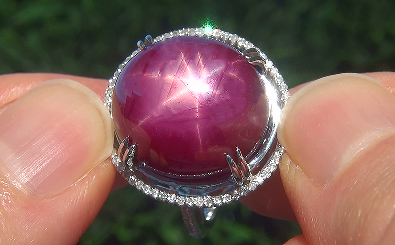 Click Photo To Bid On This Gorgeous Ruby Ring