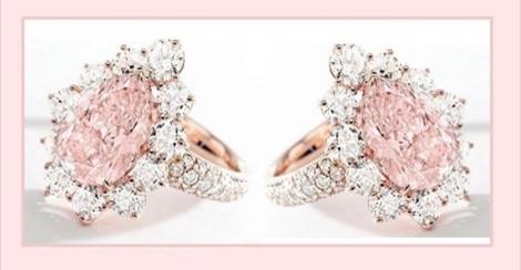 Gorgeous Pink Diamond Ring