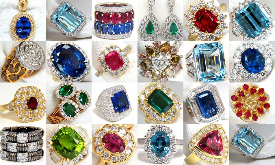 Gorgeous Gemstone Jewelry at Avis Diamond