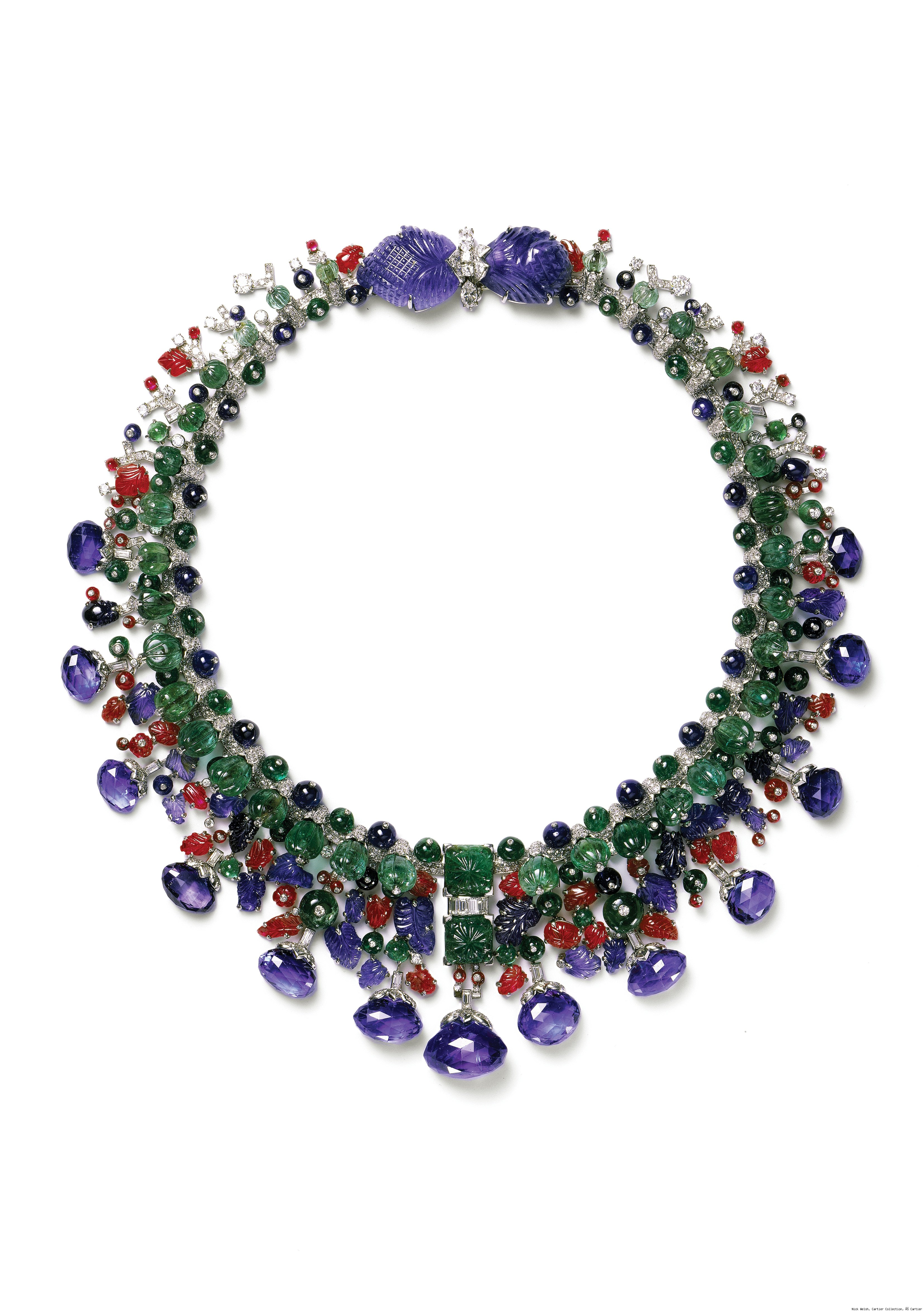 The Tutti Frutti Necklace by Cartier