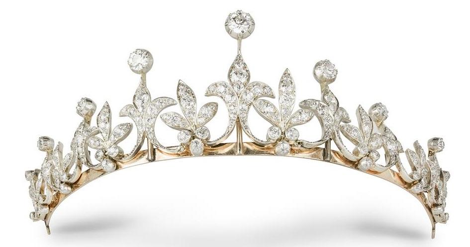 A late Victorian diamond tiara circa 1890