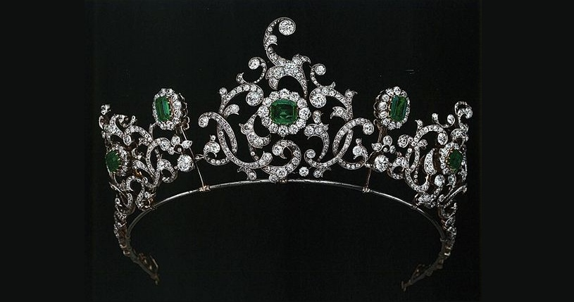 Duchess of Devonshire Emerald Tiara by Cartier, c. 1901-1910
