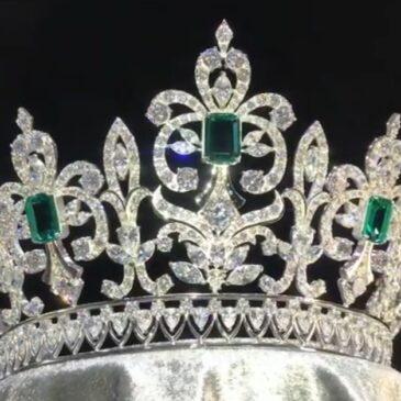 Exquisite Emerald and Diamond Tiara