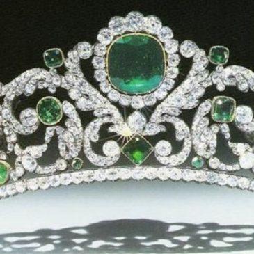 The Gorgeous Angouleme Emerald Tiara