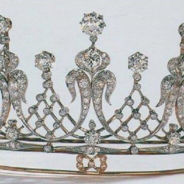 Elizabeth Taylor's Diamond Tiara, 1957